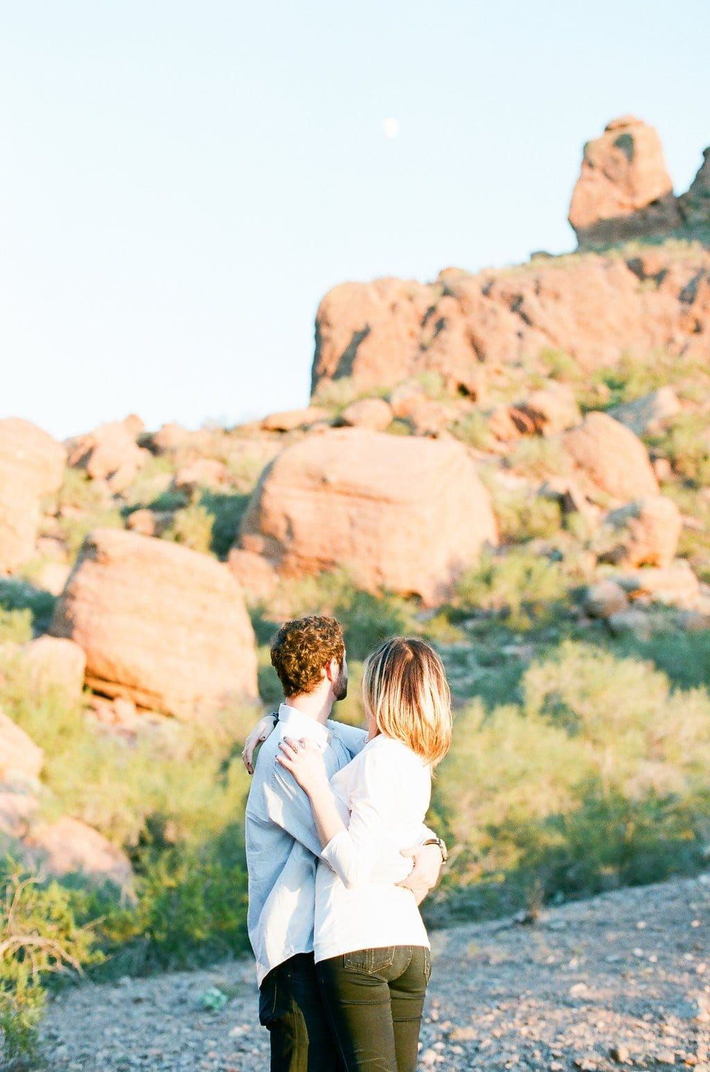 Camelback Mountain Engagement Photography