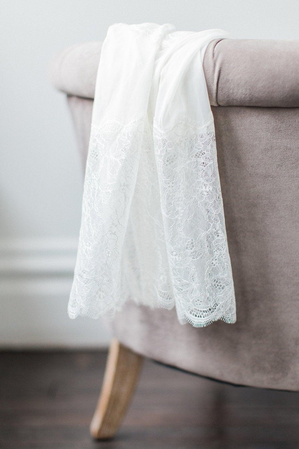 Lace robe Romantic