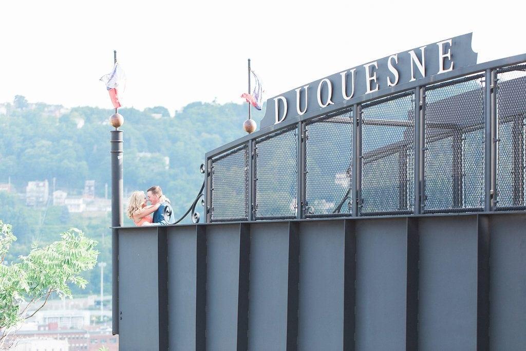 Duquesne University Engagement Photography