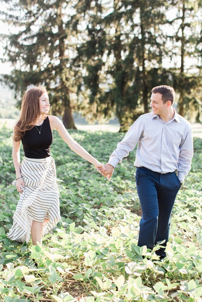 engagement session captured by Pittsburgh wedding photographer Lauren Renee