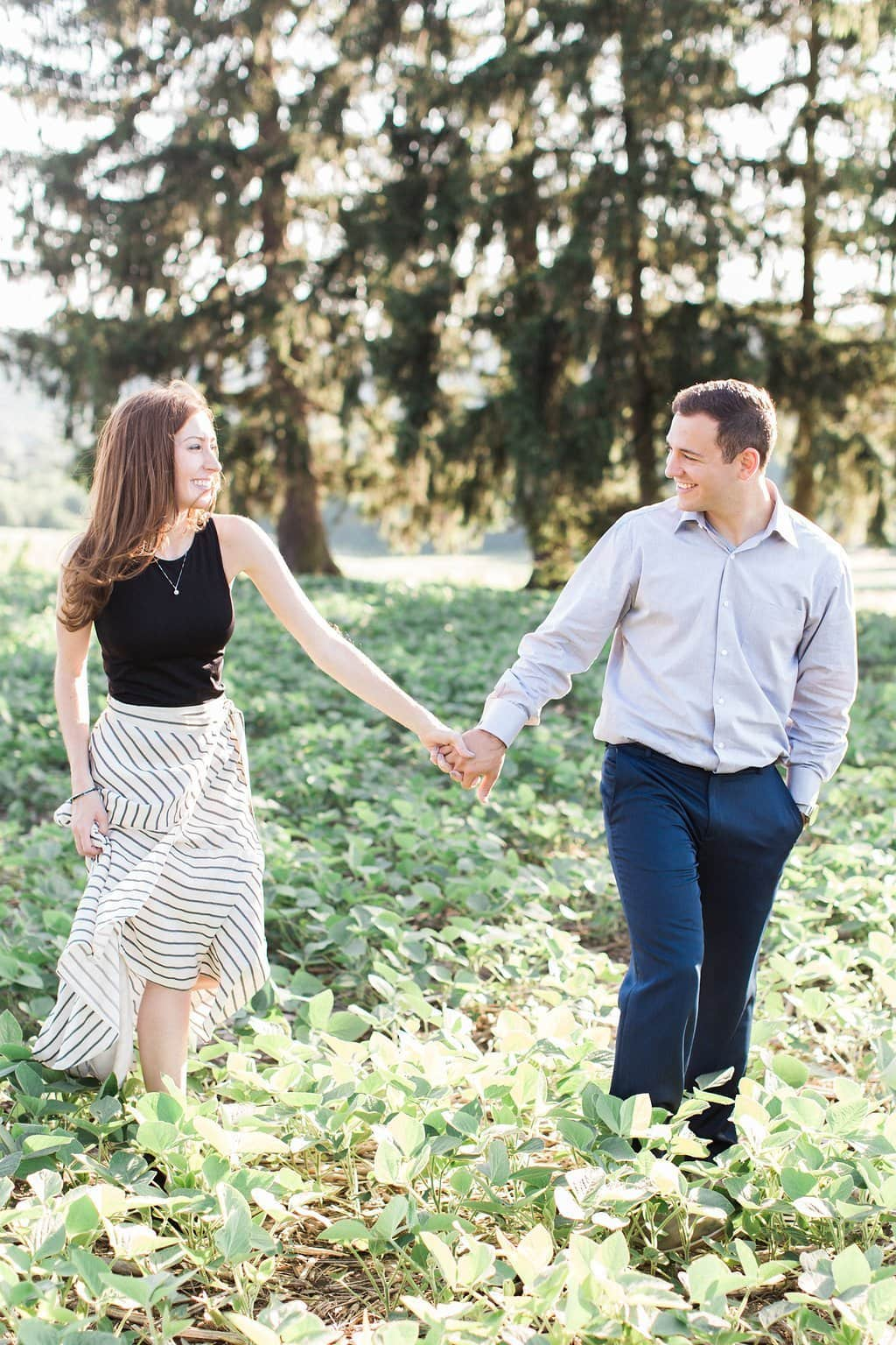 lenape heights golf resort engagement session