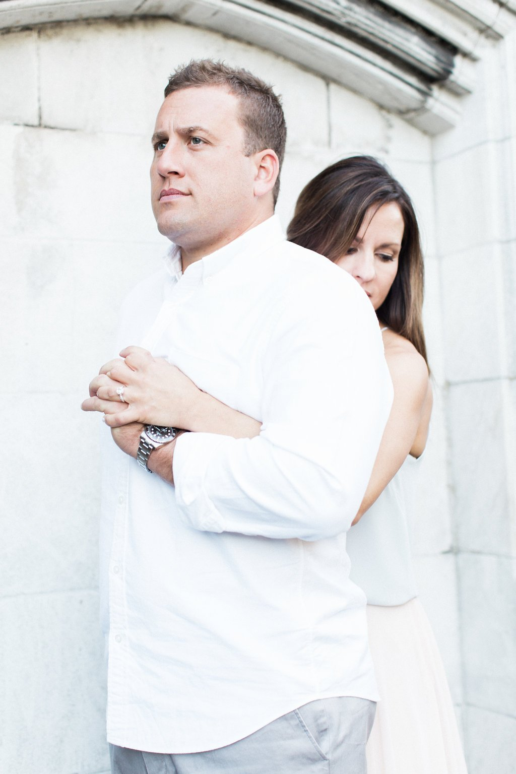 Mellon Park Romantic Engagement Photography