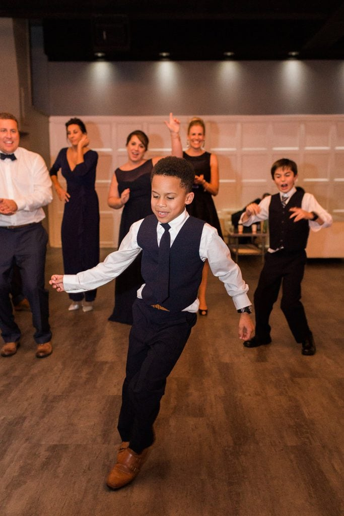 Wedding Reception photos and dancing at J. Verno Studios in the Southside of Pittsburgh