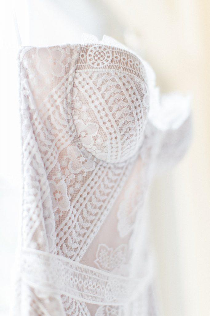 Rue de Siene 1920's inspired wedding gown at the Omni William Penn