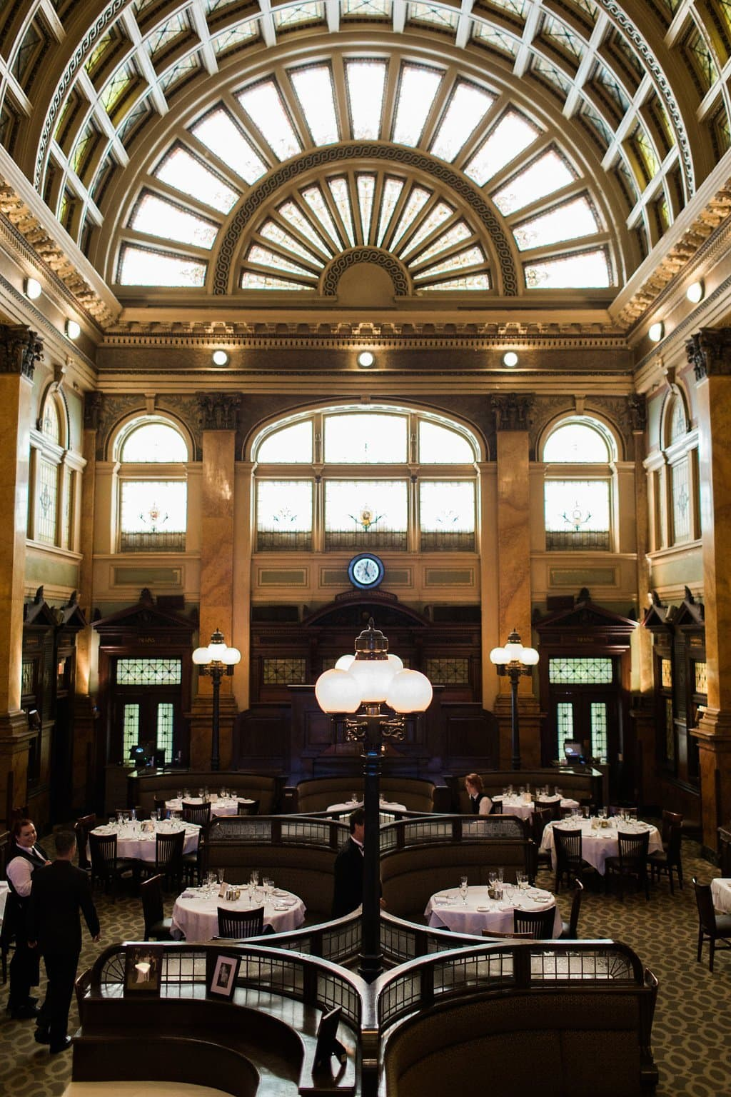 Grand Concourse Station Square Wedding Reception - 1920's inspired wedding Grand Concourse