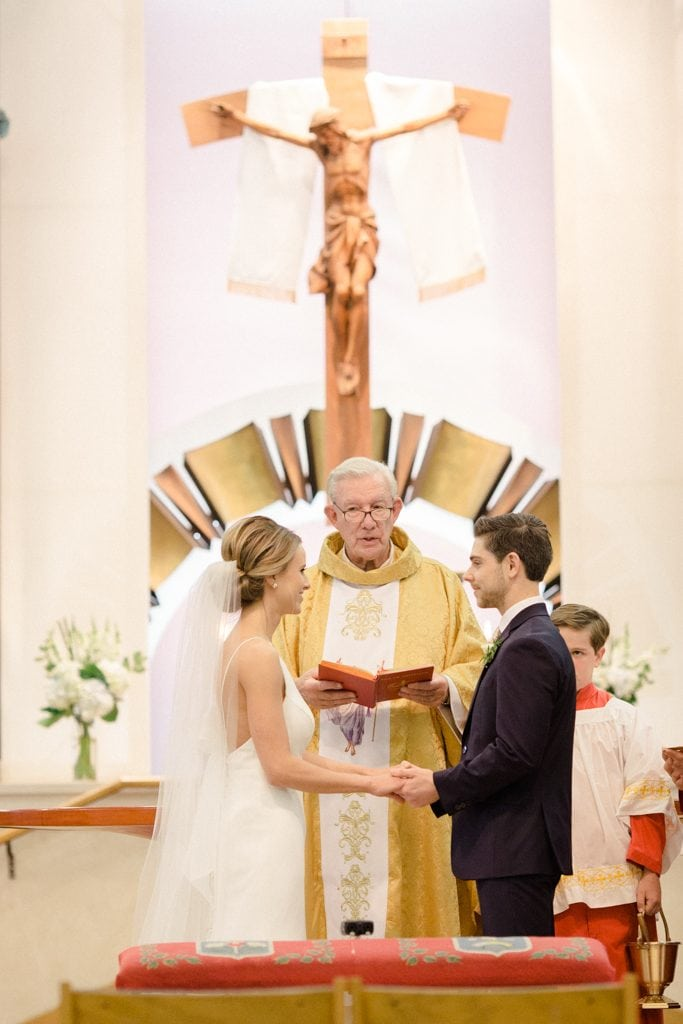 The Pennsylvanian Wedding at St. Bede's Church