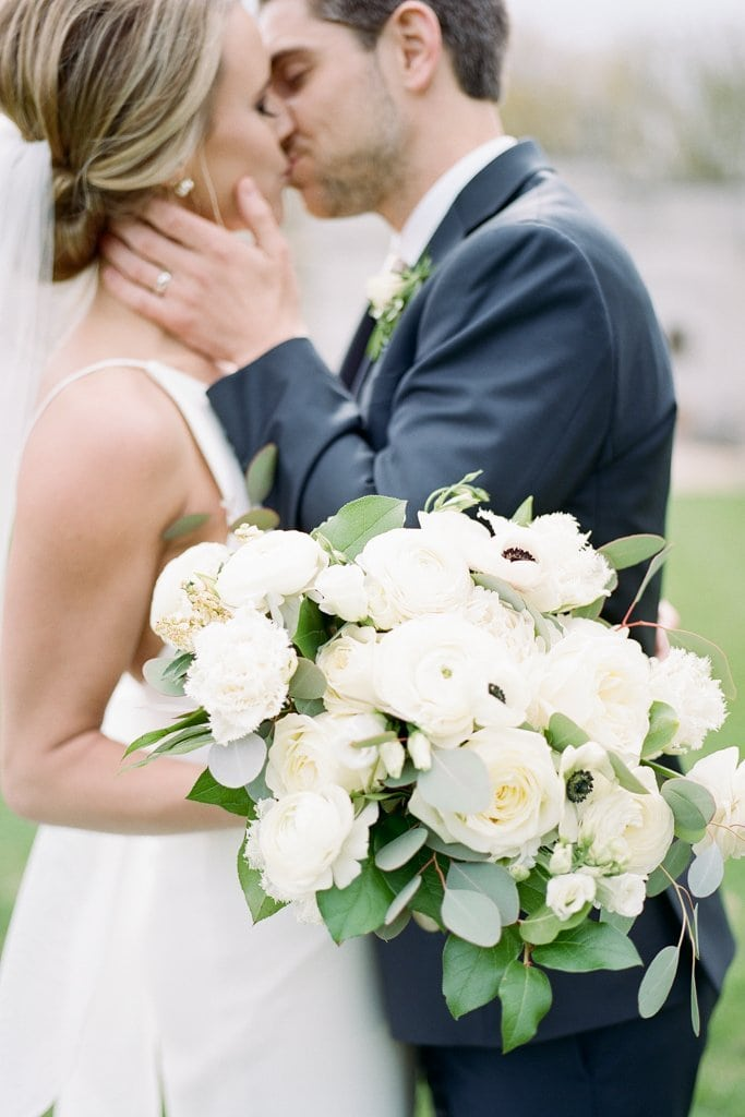 The Pennsylvanian Wedding Bride and groom portraits at Mellon Park flowers from Farmer's daughter- White and Gold Wedding at The Pennsylvanian