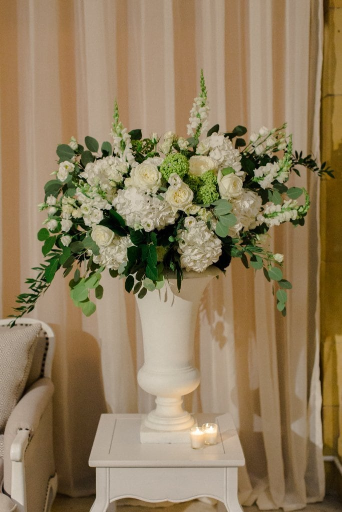 The Pennsylvanian wedding farmer's daughter flowers- White and Gold Wedding at The Pennsylvanian