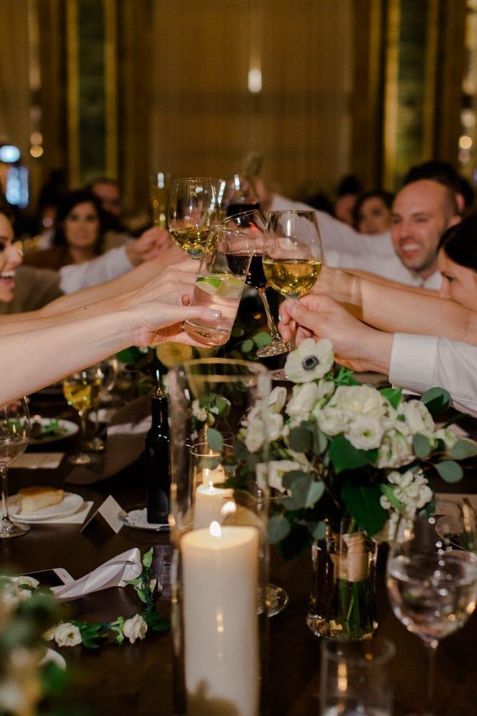 The Pennsylvanian wedding reception toasts