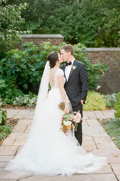 Lauren Renee Photography Walled Garden at Mellon Park Wedding