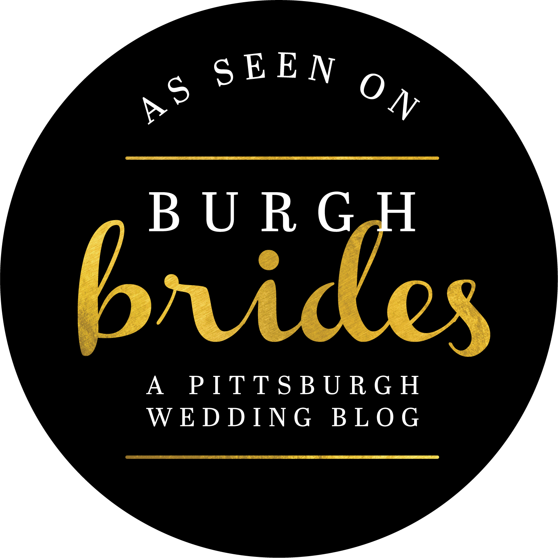 Featured on Burgh Brides Wedding Blog Pittsburgh
