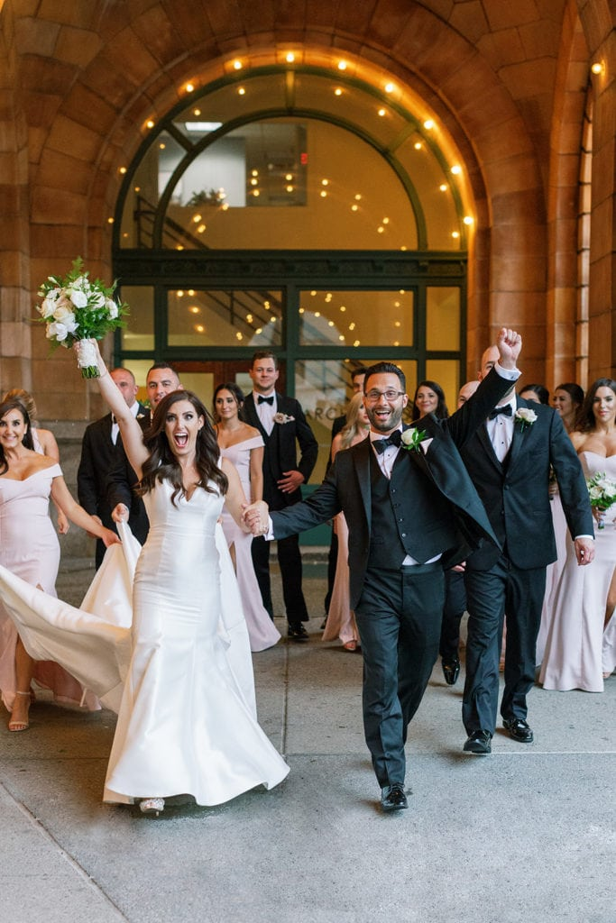 Timeless Blush and Gold Wedding at The Pennsylvanian by Lauren Renee Photography