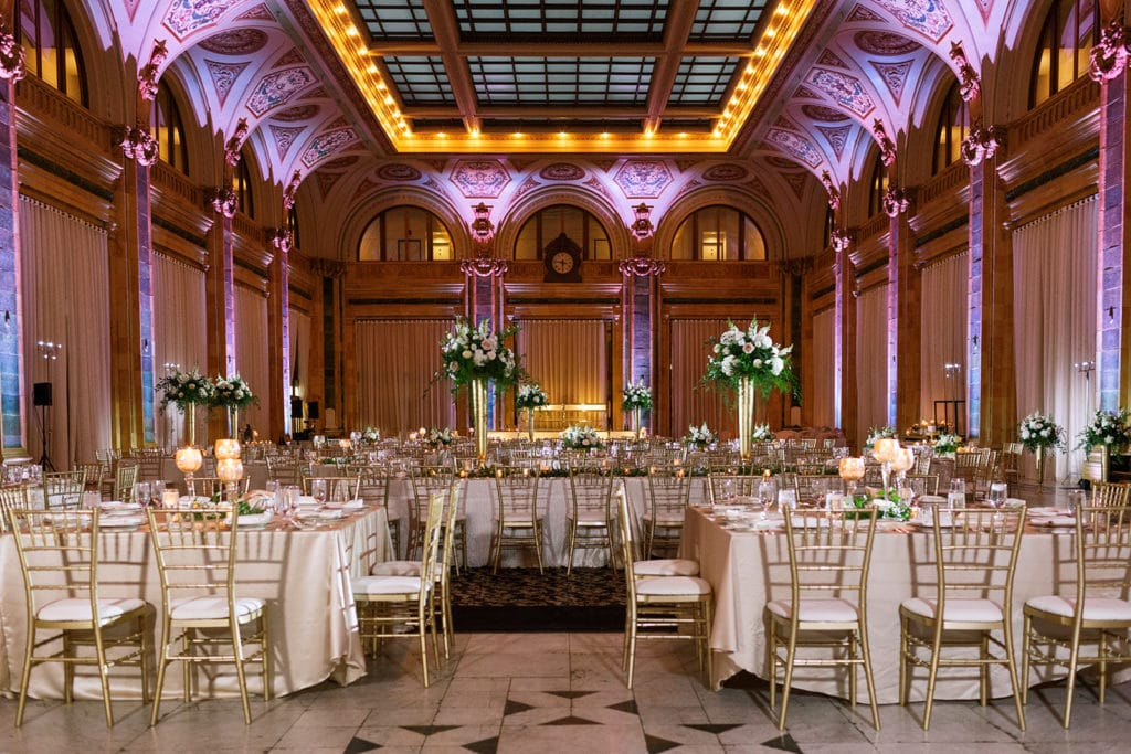 Wedding Reception at the Pennsylvanian in Downtown Pittsburgh