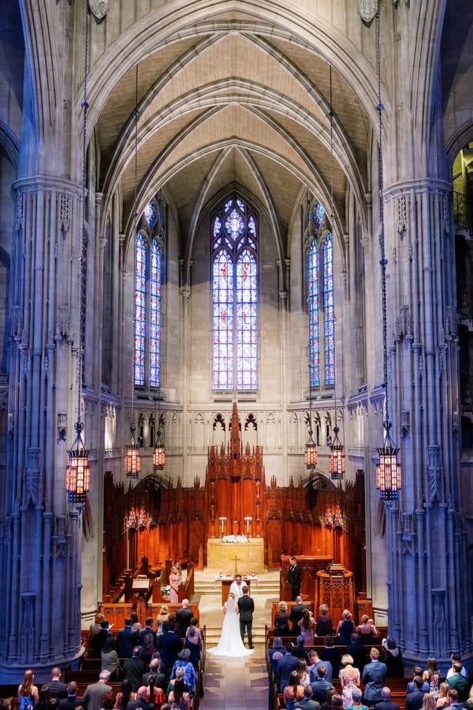 Heinz Chapel Wedding Ceremony: Romantic Mauve Carnegie Music Hall Wedding captured by Lauren Renee