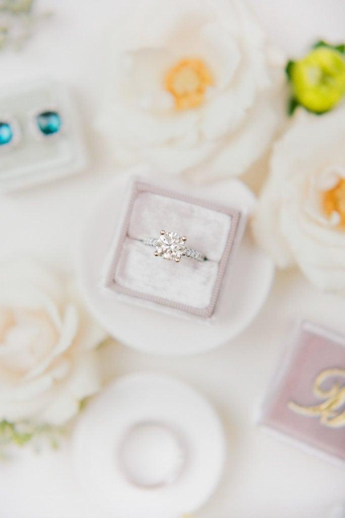 Mrs. Ring Box: Romantic Mauve Carnegie Music Hall Wedding captured by Lauren Renee