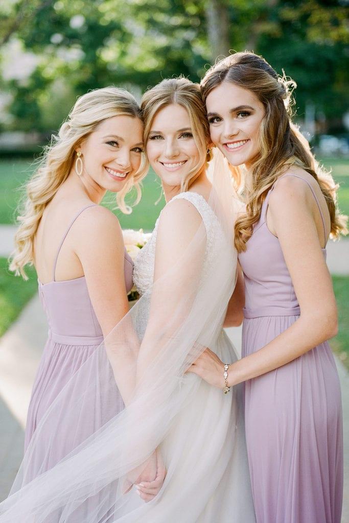 Mauve Sorelle Bridal Bridesmaid Dresses: Romantic Mauve Carnegie Music Hall Wedding captured by Lauren Renee