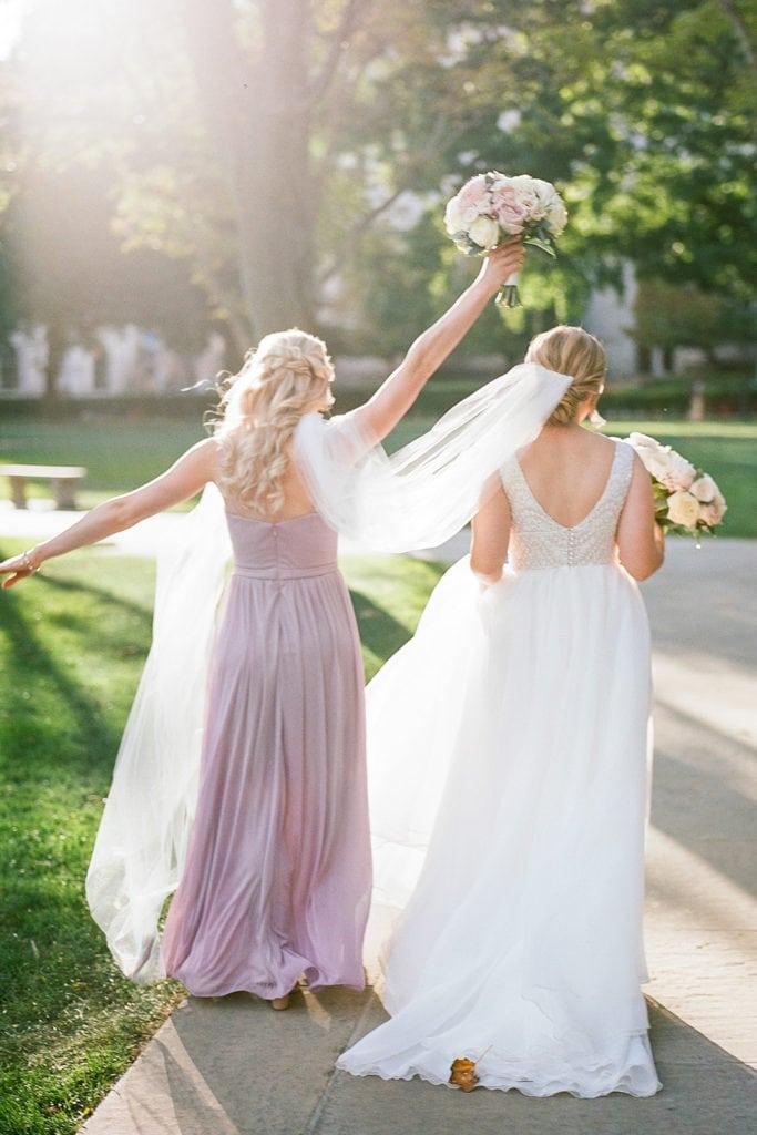 Romantic Mauve Carnegie Music Hall Wedding captured by Lauren Renee