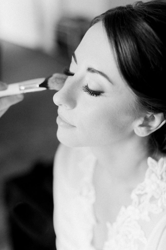 Beauty Justified by Justine Pittsburgh wedding hair and makeup captured by Lauren Renee