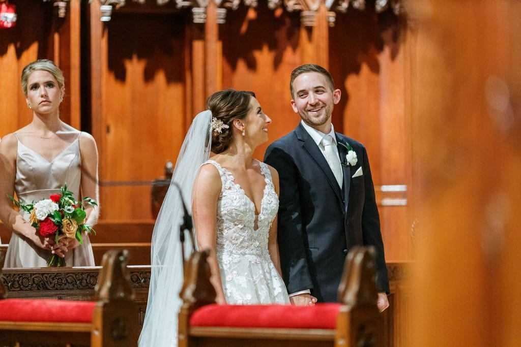 Heinz Memorial Chapel Pittsburgh wedding