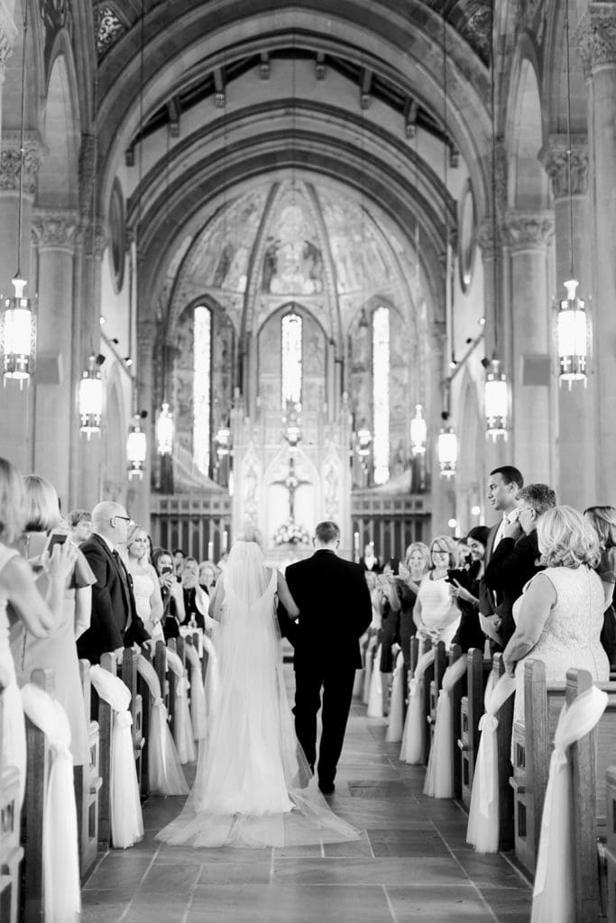 Catholic Pittsburgh Wedding Ceremony captured by Pittsburgh Wedding Photographer Lauren Renee