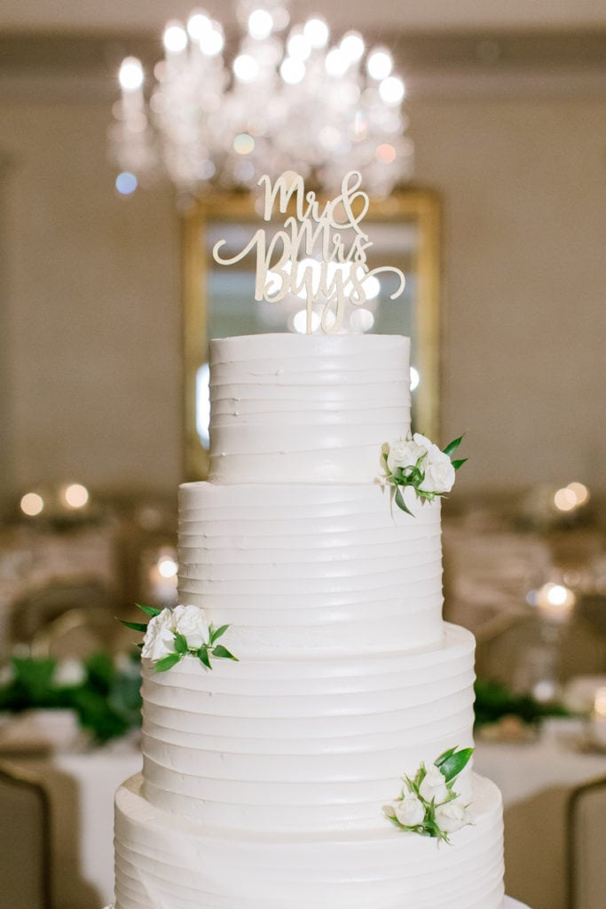 Wedding Cake Table: Pittsburgh Field Club Wedding by Pittsburgh Photographer Lauren Renee
