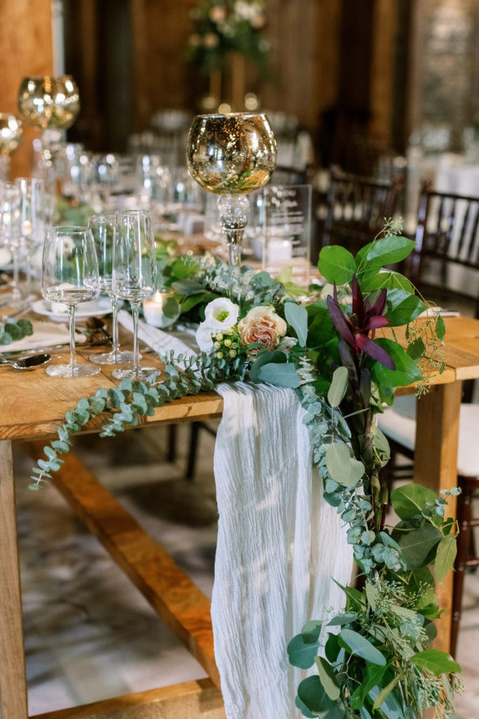 Fall wedding tablescape: Outdoor Fall Seven Springs Wedding captured by Pittsburgh Wedding Photographer Lauren Renee