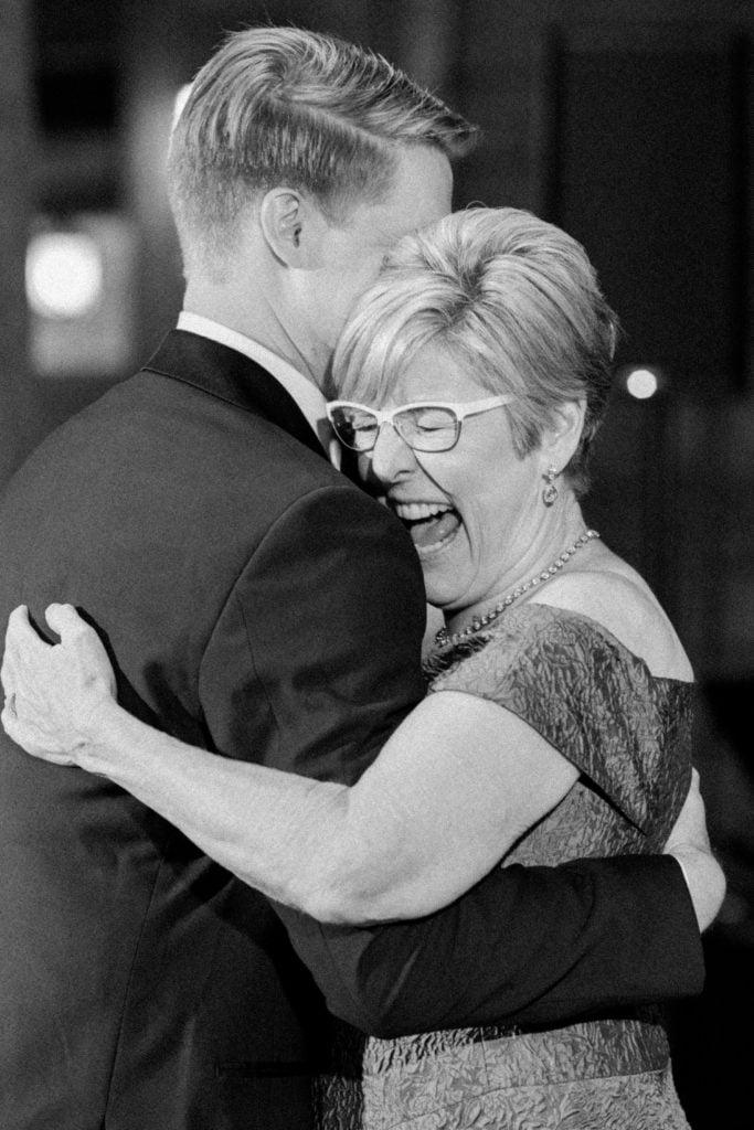 Mother son dance: Outdoor Fall Seven Springs Wedding captured by Pittsburgh Wedding Photographer Lauren Renee