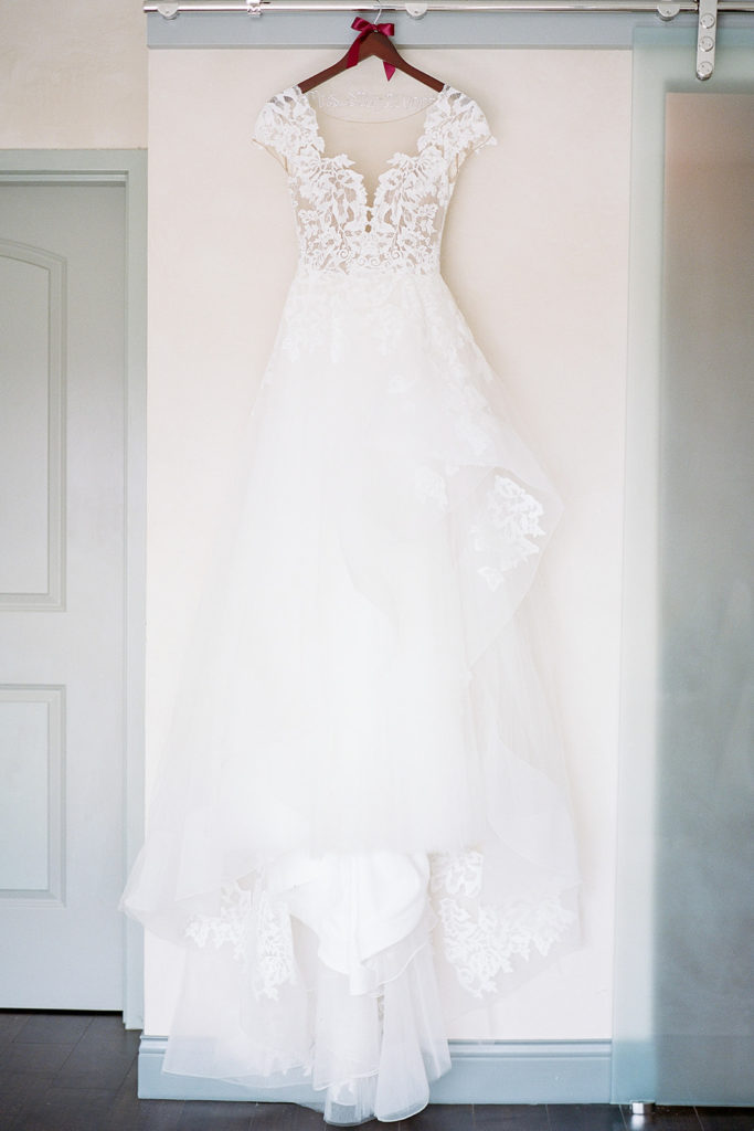 Cap sleeve wedding dress: Elegant Mellon Walled Garden Pittsburgh Wedding by Lauren Renee