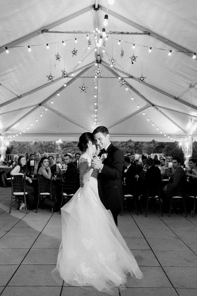 Wedding first dance: Elegant Mellon Walled Garden Pittsburgh Wedding by Lauren Renee