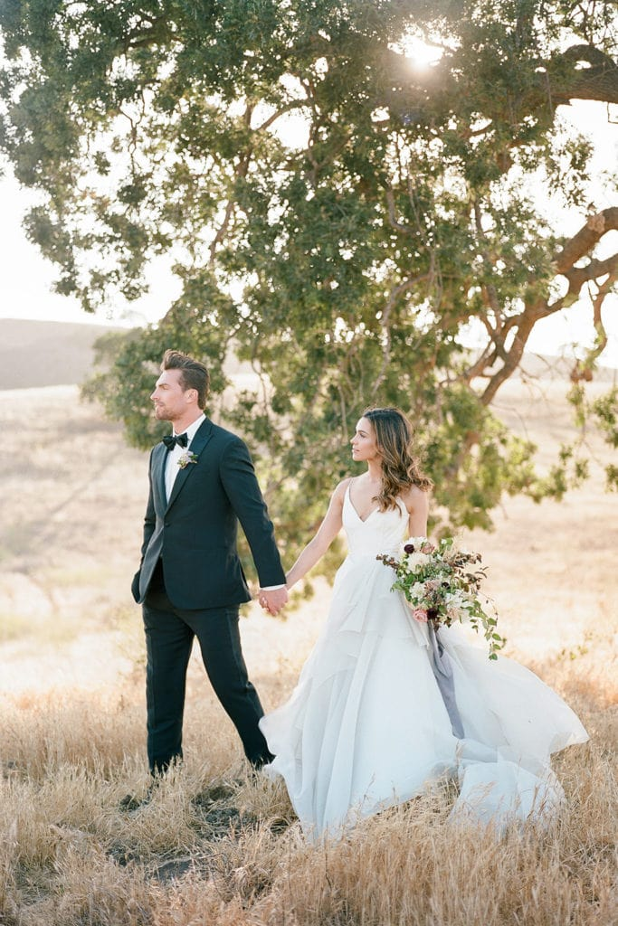 The Black Tux and Carol Hannah Bridal: Kestrel Park California Wedding Inspiration Styled Shoot captured by Pittsburgh Wedding Photographer Lauren Renee