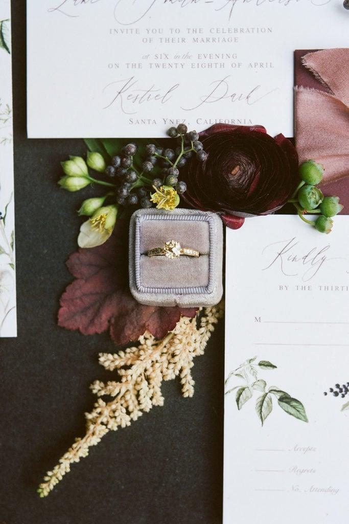 Emily Mayne Studio Stationery: Kestrel Park California Wedding Inspiration Styled Shoot captured by Pittsburgh Wedding Photographer Lauren Renee