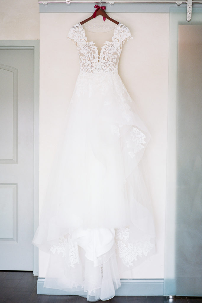 Elegant wedding dress from Bridal Beginnings
