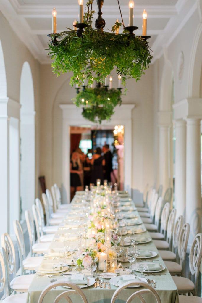 Fox Chapel Golf Club wedding table decor