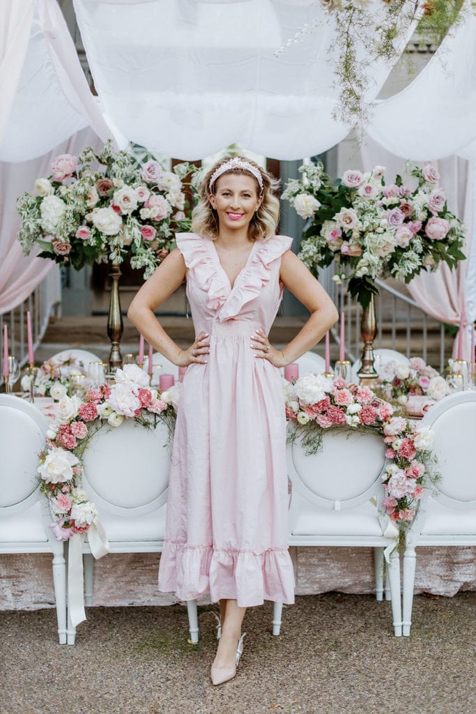 "Emily Gordon from Em and E Events wedding planning and design: ""Pretty in Pink"" Wedding Inspiration"