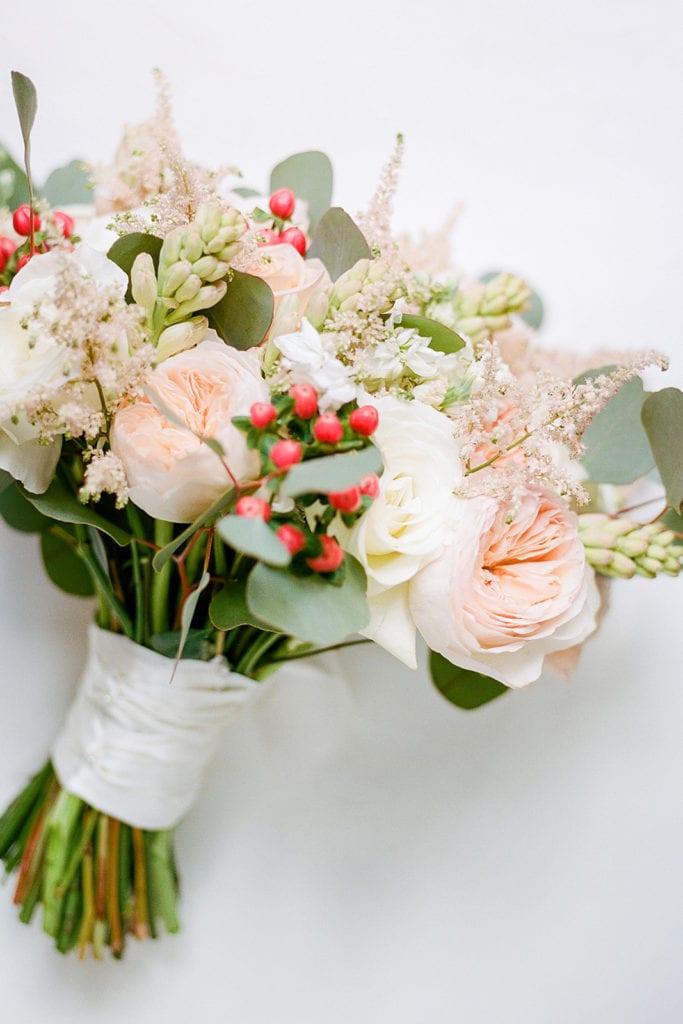 Mocha Rose Floral wedding bouquet