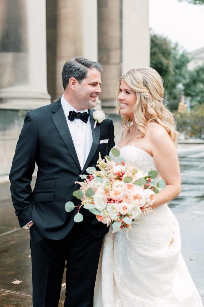 Downtown Pittsburgh wedding photography by Lauren Renee