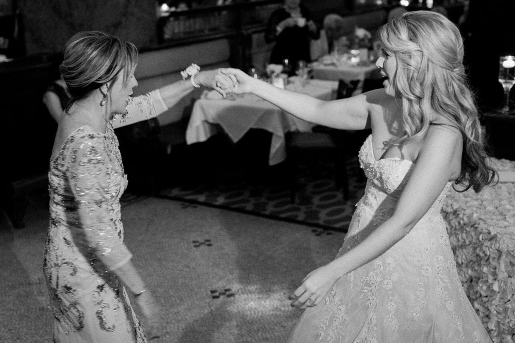 Mother daughter first dance at Grand Concourse wedding