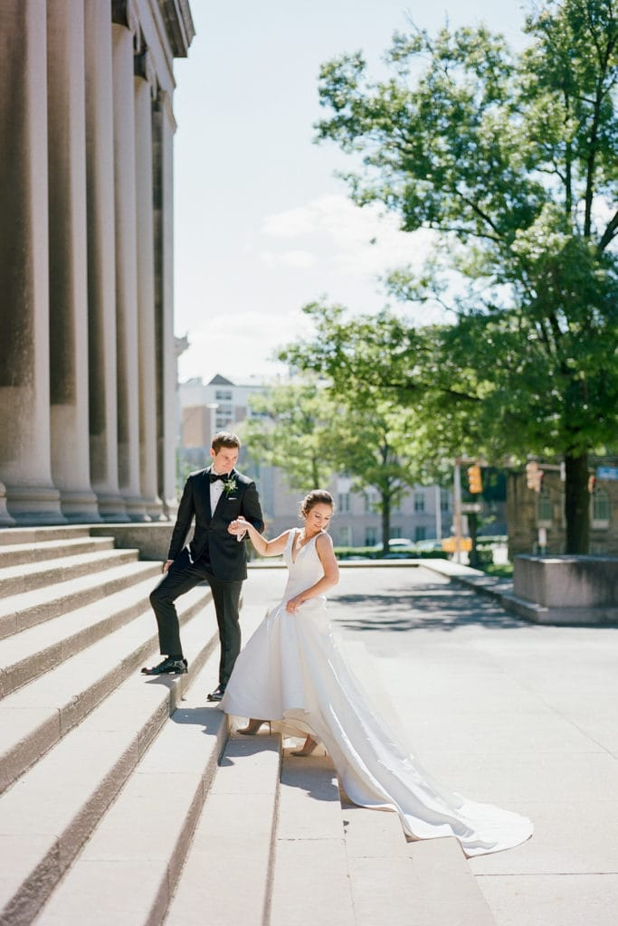 Pittsburgh wedding photo: Why You Should Hire a Hybrid Photographer by Lauren Renee