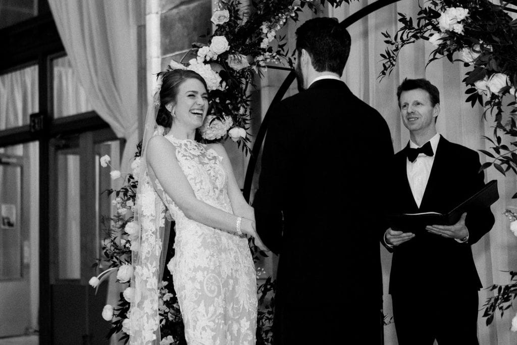 Pittsburgh wedding ceremony at The Pennsylvanian