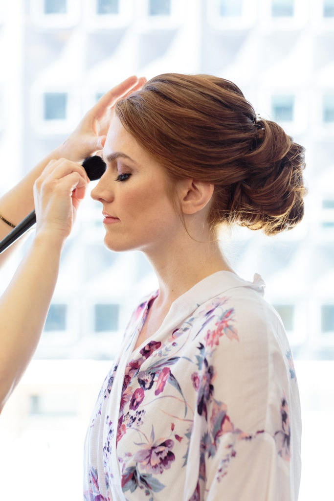 Beauty Justified Pittsburgh wedding makeup