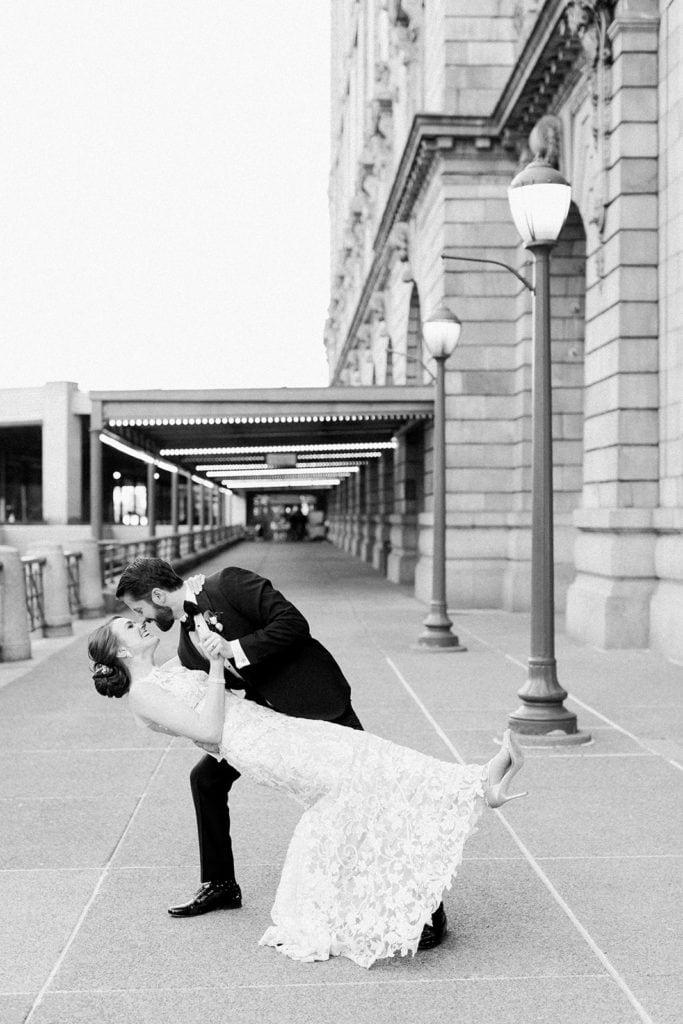Pittsburgh wedding at The Pennsylvanian captured by Lauren Renee