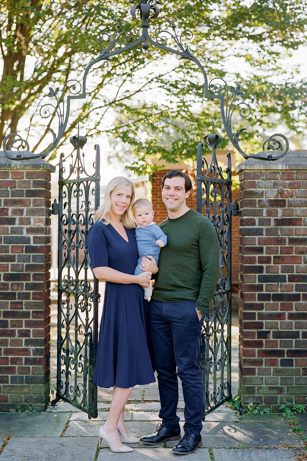 Family portrait with Pittsburgh photographer Lauren Renee