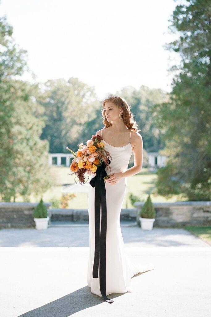 Chic bridal fashion