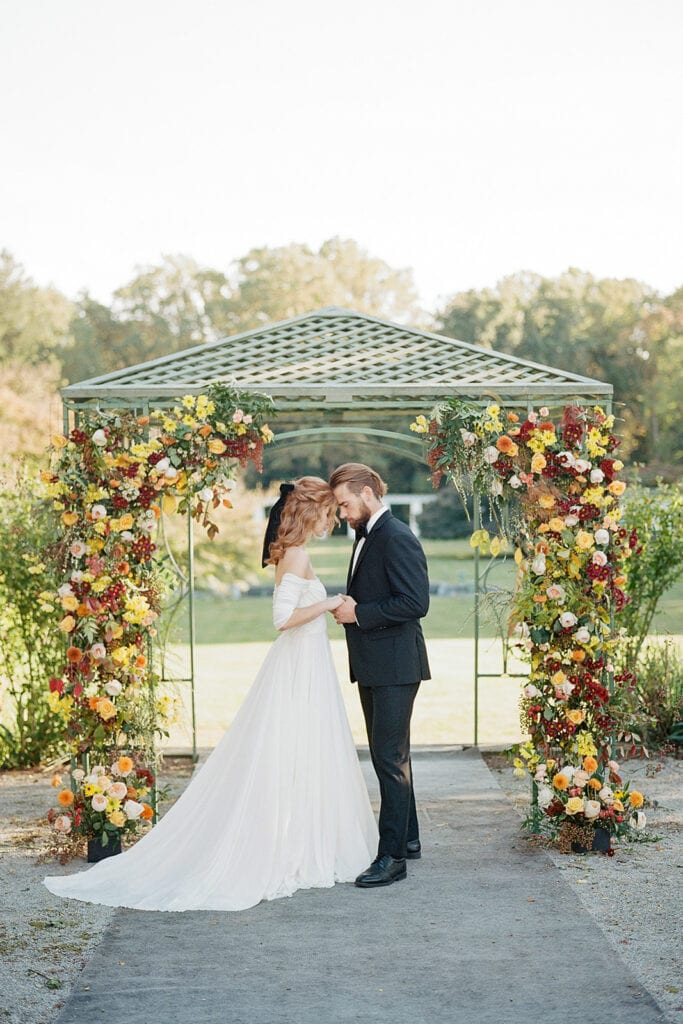 Luxurious outdoor wedding inspiration