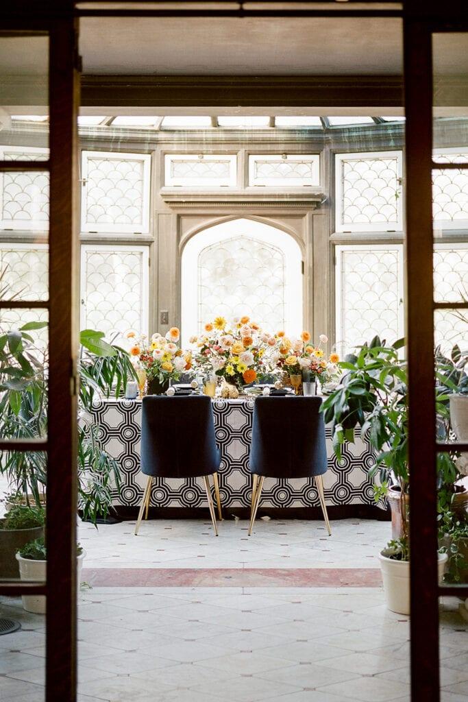 Modern Greystone Hall wedding inspiration