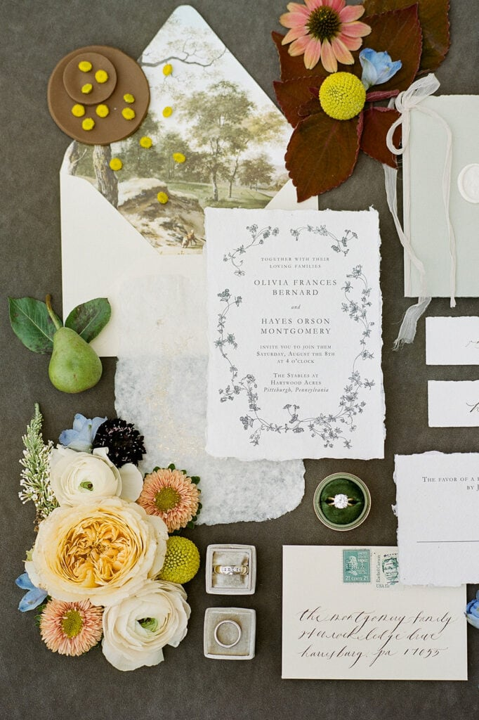 Every Little Letter wedding stationery
