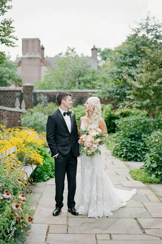 Mellon Park wedding portraits