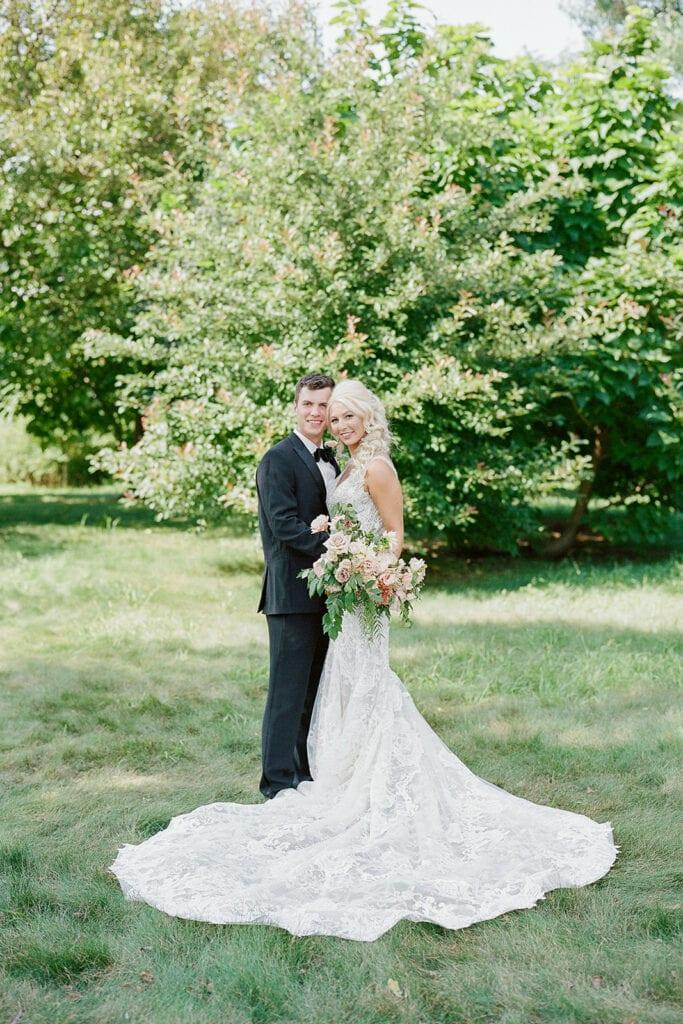 Mellon Park wedding portrait by Lauren Renee