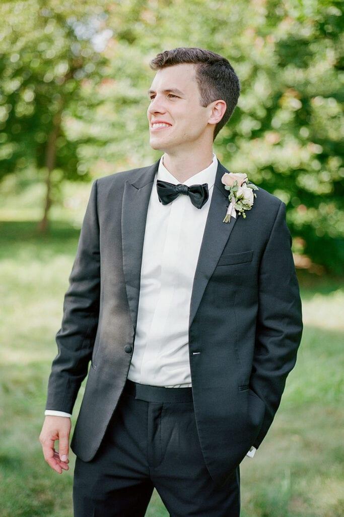 Black wedding tuxedo jacket