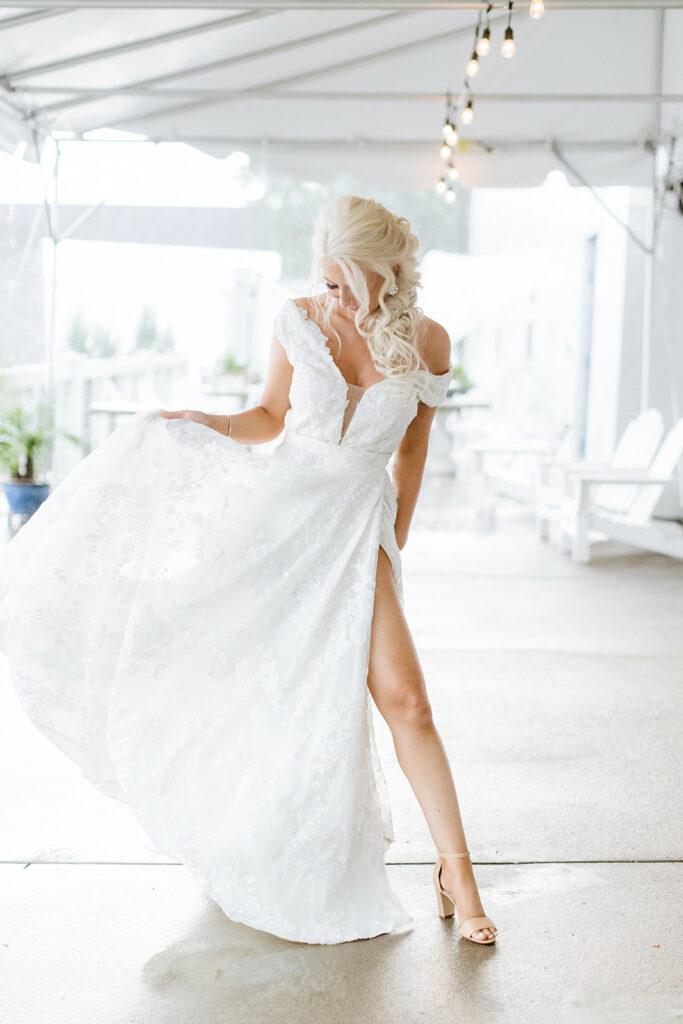 Jaclyn Jordan wedding dress